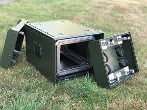 Half 19 inch case