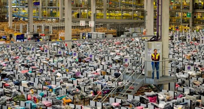 logistiek Amazon