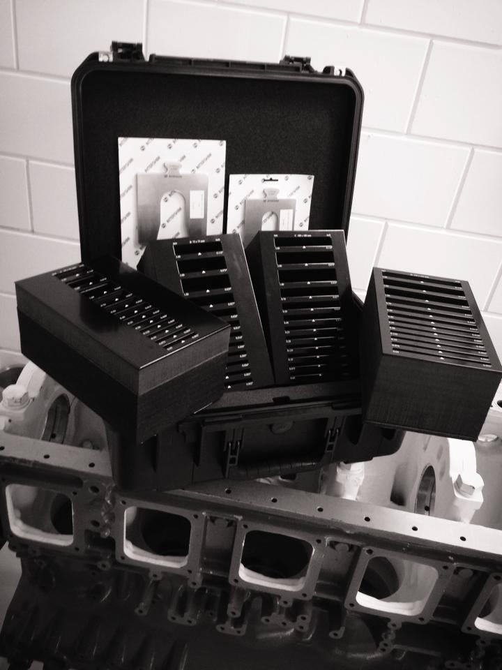Koffer vulplaten Intershim interieur
